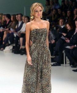 Леопардовая юбка – вызов или элегантность?
