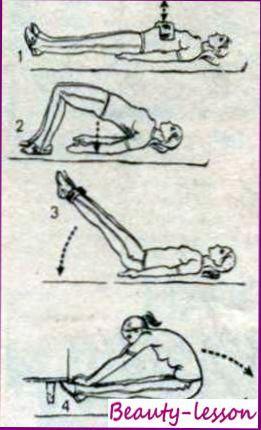 Лечебная физкультура для укрепления передней стенки живота